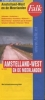 ,<b>Falk stadsplattegrond Amstelland-West en de Meerlanden (Aalsmeer, Amstelveen, Badhoevedorp, Hoofddorp, Mijdrecht, Nieuw-Vennep, Ouderkerk, Schiphol, Uithoorn, Vinkeveen, Wilnis) 7e druk recente uitgave</b>