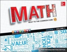 McGraw-Hill Glencoe Math, Course 1, Teacher Walkaround Edition, Volume 2