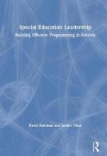 David (Shippensburg University, USA) Bateman,   Jenifer (Montana Department of Education, USA) Cline Special Education Leadership