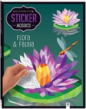 Sticker Mosaic: Flora and Fauna