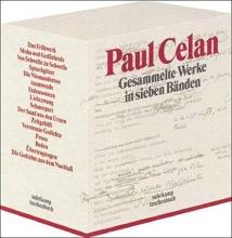 Celan, Paul Gesammelte Werke in sieben Bänden