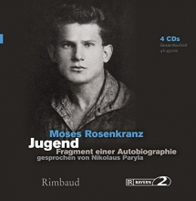 Rosenkranz, Moses Jugend - H�rbuch, 4 Audio-CDs
