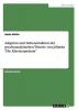 Müller, Nadia, Adaption und Dekonstruktion der psychoanalytischen Theorie von Jelineks