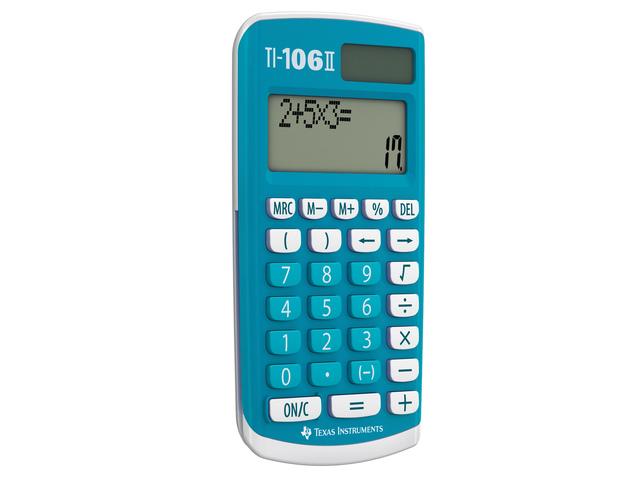 ,Rekenmachine TI-106II