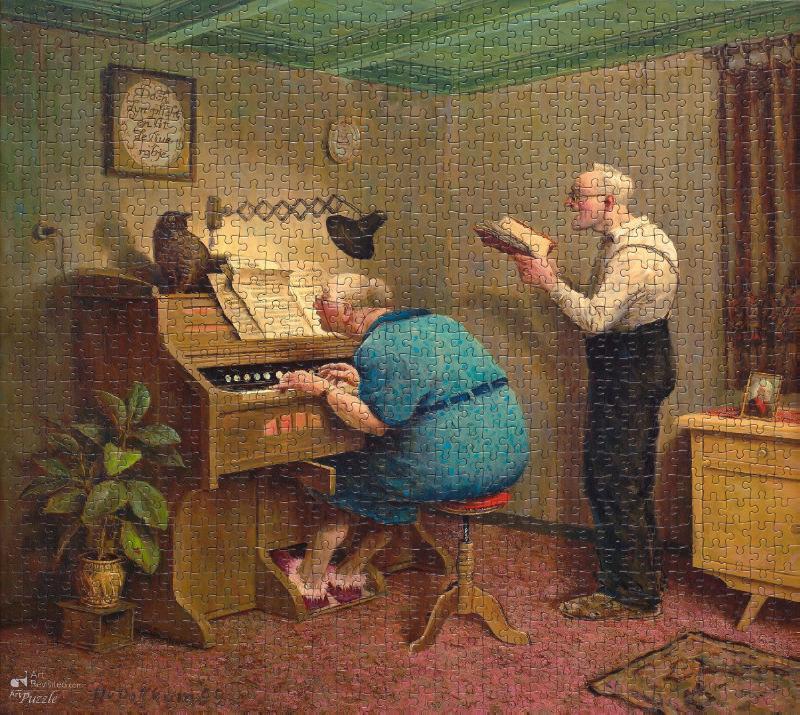 ,Zoals de ouden zongen  Puzzel 1000 stukjes