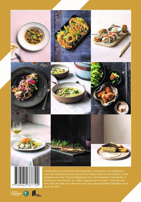 Jeroen Meus,10 jaar Dagelijkse Kost