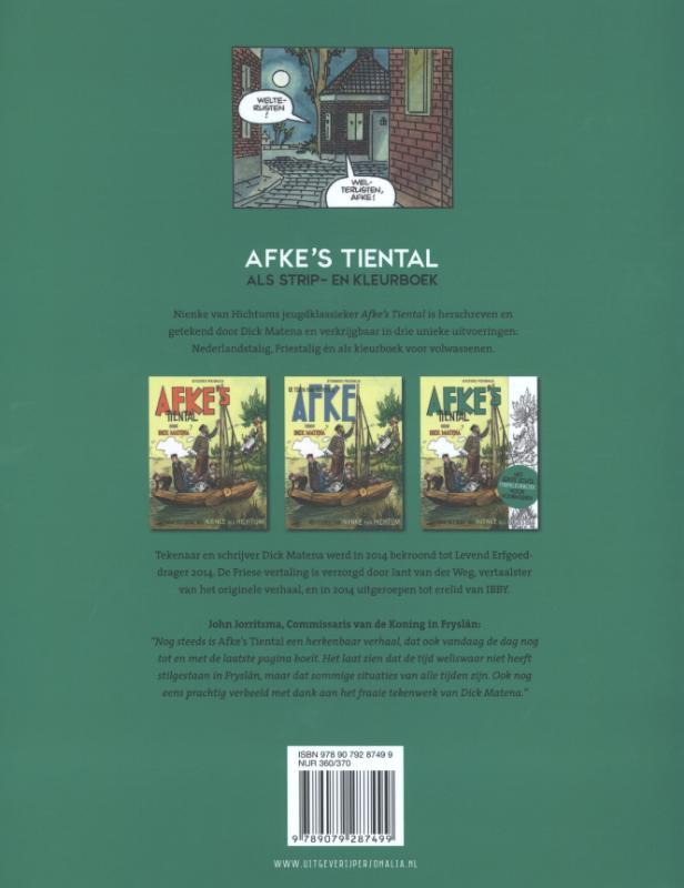 Dick Matena, Nienke van Hichtum,Afke`s Tiental