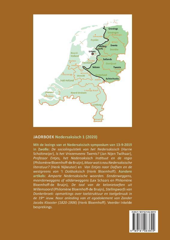 Henk Bloemhoff, Henk Nijkeuter,Jaorboek Nedersaksisch 1 (2020)
