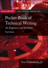 Finkelstein, Leo Pocket Book of Technical Writing for Engineers & Scientists