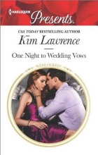 Lawrence, Kim One Night to Wedding Vows