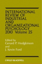Hodgkinson International Review of Industrial and Organizational Psychology 2010