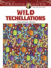 Dover Wild Techellations Coloring Book