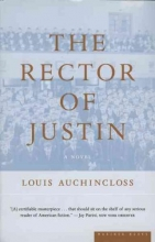 Auchincloss, Louis The Rector of Justin