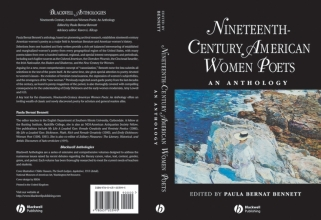 Bennett, Paula Bernat Nineteenth Century American Women Poets