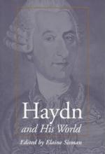 Sisman, Elaine R. Haydn and His World