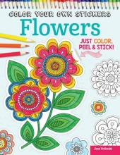 Volinski, Jess Color Your Own Stickers Flowers
