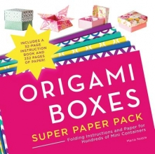 Maria Noble Origami Boxes Super Paper Pack