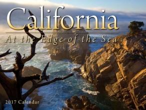 California at the Edge of the Sea 2017 Calendar