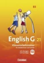 English G 21. Ausgabe B 3. Klassenarbeitstrainer mit Lösungen und Audios Online