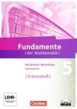 Pallack, Andreas Fundamente der Mathematik 5. Schuljahr. Arbeitsheft mit eingelegten Lösungen und CD-ROM. Gymnasium Nordrhein-Westfalen