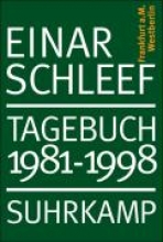 Schleef, Einar Tagebuch 1981 - 1998