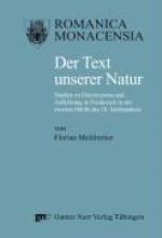 Mehltretter, Florian Der Text unserer Natur