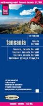 , Reise Know-How Landkarte Tansania, Ruanda, Burundi (1:1.200.000)