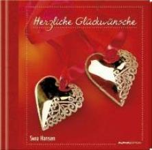 Geschenkbuch - Herzliche Glckwnsche - (11 x 11,5)