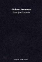 Czernin, Franz J Die Kunst des Sonetts