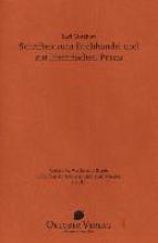 Gutzkow, Karl Schriften zum Buchhandel und zur literarischen Praxis