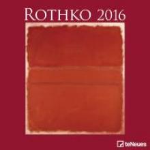 2016 Mark Rothko 30 x 30 Grid Calendar