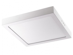, plafondlamp Alco LED wit 18 Watt 90 LEDS 90-265 volt