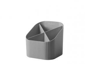 , Pennenkoker Han Re-LOOP 4-vaks grijs