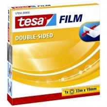 , Dubbelzijdige plakband Tesa film 19mmx33m
