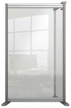 , Bureauscherm uitbreidingspaneel Nobo Modulair transparant acryl 600x1000mm