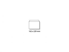 , dienstenvelop Raadhuis 114x162mm C6 gegomd wit doos a 500   stuks
