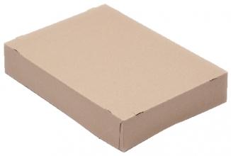 , Paraatdoos CleverPack A4 305x218x55mm voor 500vel bruin 10st