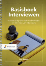 M. van der Hulst B. Baarda, Basisboek Interviewen