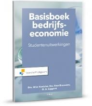 Olaf Leppink Wim Koetzier  Rien Brouwers, Basisboek bedrijfseconomie-studentenuitwerkingen