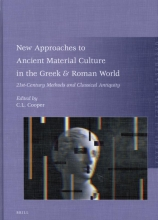 , New Approaches to Ancient Material Culture in the Greek & Roman World