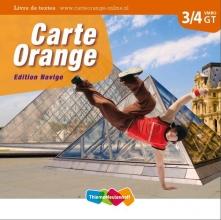 Marjo  Knop Carte Orange 3/4 vmbo Livre de textes Ed.Navigo