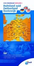 ANWB , ANWB wegenkaart Duitsland 2. Duitsland zuid/Zwitserland/Oostenrijk