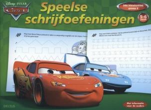 Disney speelse schrijfoefeningen Cars 5-6 jaar, groep 2