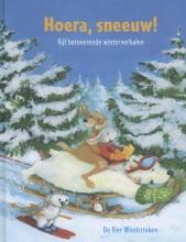 Brigitte  Weninger, Marcus  Pfister Hoera, sneeuw! Vijf betoverende winterverhalen