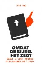 Peter  Enns Omdat de Bijbel het zegt