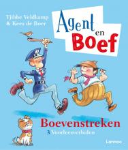 Kees de Boer Tjibbe Veldkamp, Agent en Boef - Boevenstreken