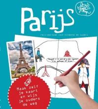 Lisa van Gaalen DrawYourMap Parijs