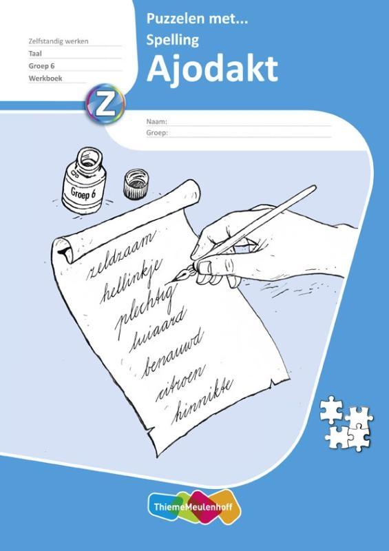 ,Ajodakt Taal, Puzz met spelling gr6, Werkboek 5 ex