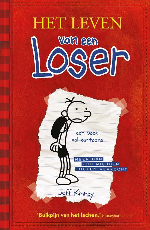 Jeff Kinney,Het leven van een Loser