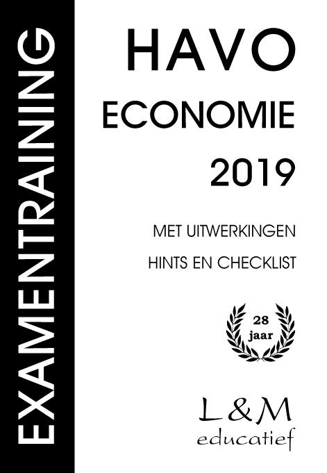 Hans Vermeulen, Aard Brouwer,Examentraining Havo Economie 2019